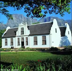 Stellenbosch South Africa: Roses and Rust: CAPE DUTCH BEAUTY