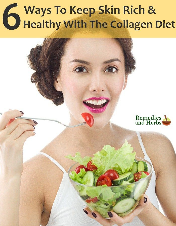 Skin Rich And Healthy With The Collagen Diet