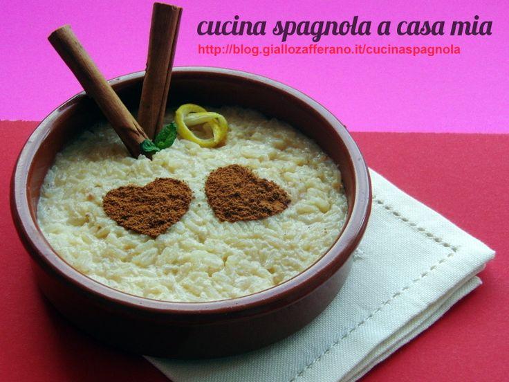 RISO CON LATTE, ARROZ CON LECHE | Cucina Spagnola: http://blog.giallozafferano.it/cucinaspagnola/riso-con-latte-cucina-spagnola/