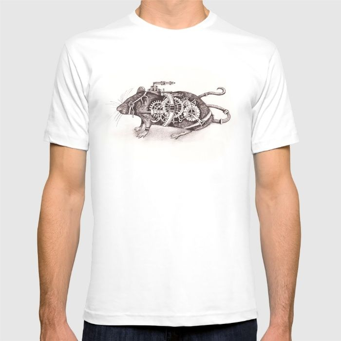 Nathaniel The Steampunk Rat T-shirt