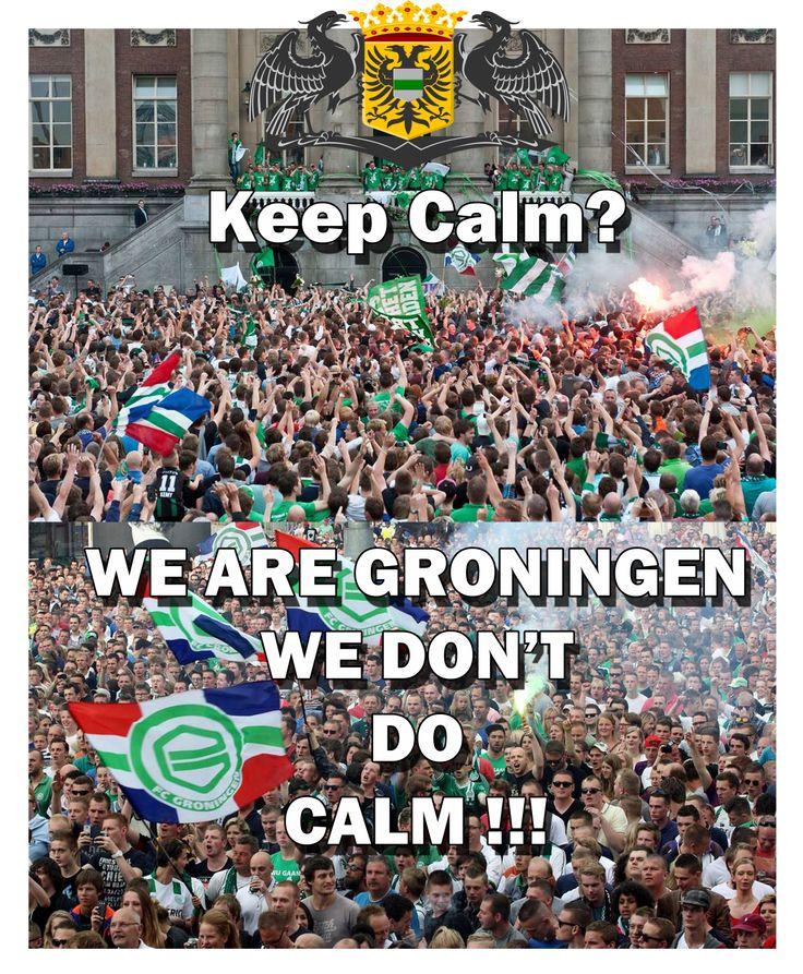 Keep calm, FC Groningen