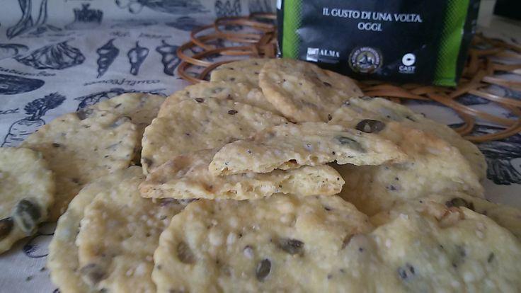 Crackers con farina di Tridordeum ai semi misti