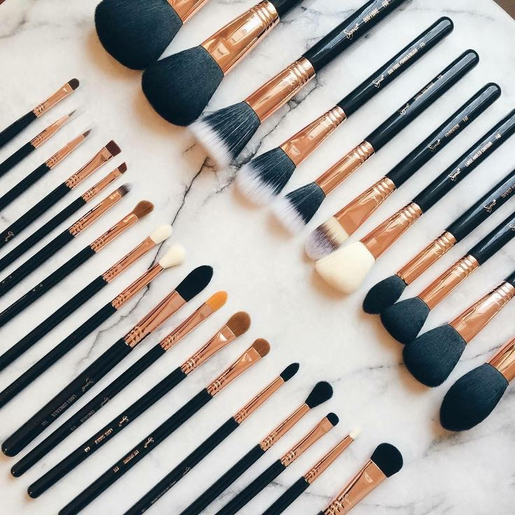 Sigma Beauty Copper✨/Black❦MakeUP Brushes❦