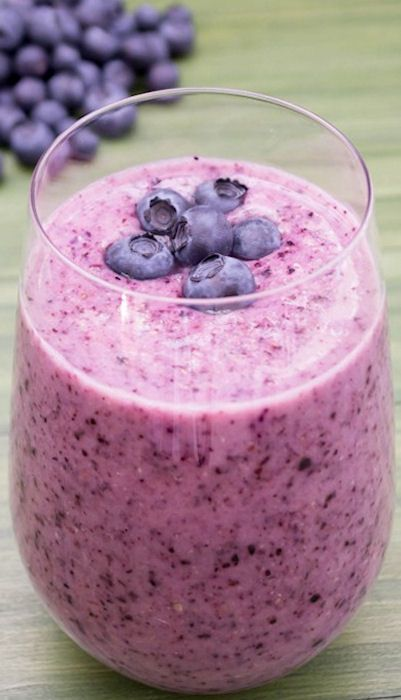 Blueberry Pineapple Smoothie Recipe ~ loaded with great nutrients and flavor.