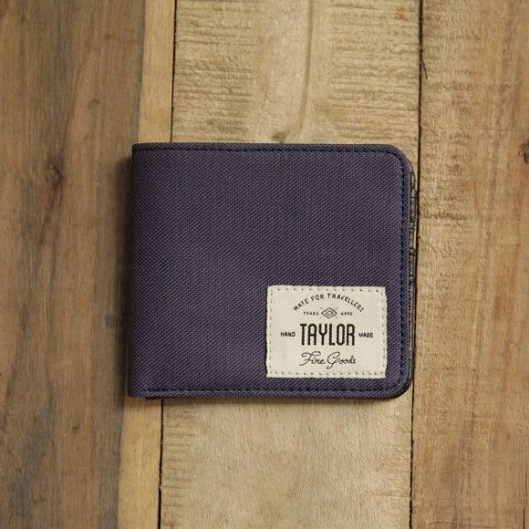 wallet 401 navy. $20.83. material: synthetic canvas and leather. size: 11 x 9.5 cm. #wallet #canvaswallet #leatherwallet #unisexwallet #menwallet #navy