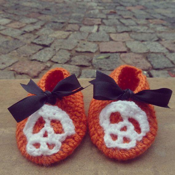 Baby costume halloween Slippers crochet Pattern PDF