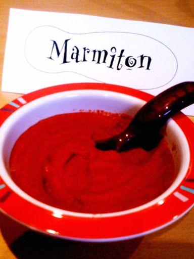 Purée de betteraves pour bébé (4 mois) : Recette de Purée de betteraves pour bébé (4 mois) - Marmiton