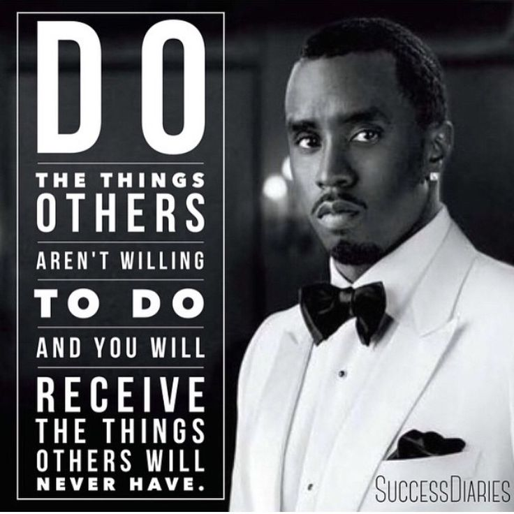 Image Result For P Diddy Inspirational Quotes