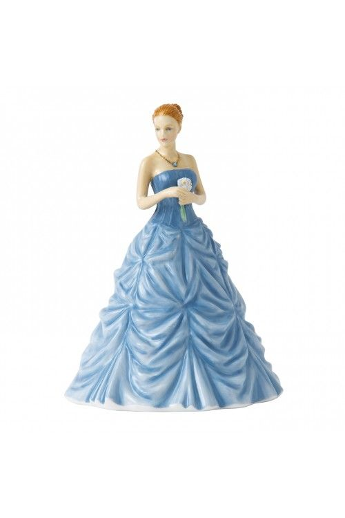 Royal Doulton Birthstone Petites March, Aquamarine.  At Waterford Wedgwood Royal Doulton, Tanger Outlets, San Marcos, TX or call 1-800-203-4540 or 512-396-4025.  We ship.