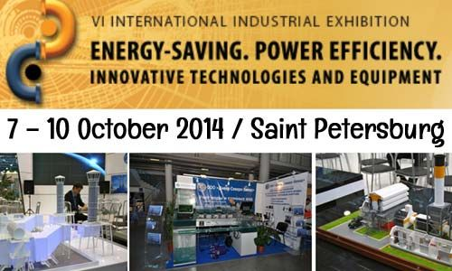 #Power_Efficiency & #Energy_Saving #Exhibition in #Saint_Petersburg #Russian_Federation 7– 10 of October 2014