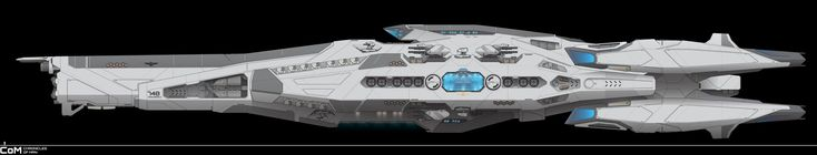 Ancile-Class Frigate - FH-748 ANS Razorback by ChroniclesofMan.deviantart.com on @DeviantArt