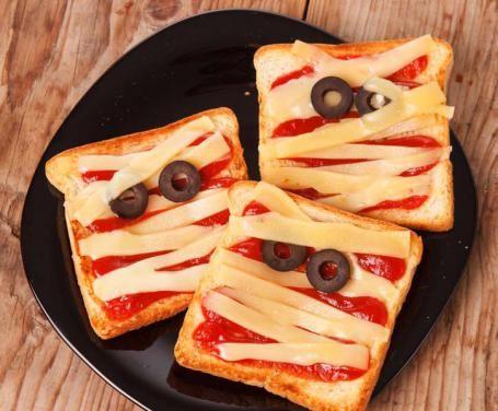 Toast di halloween