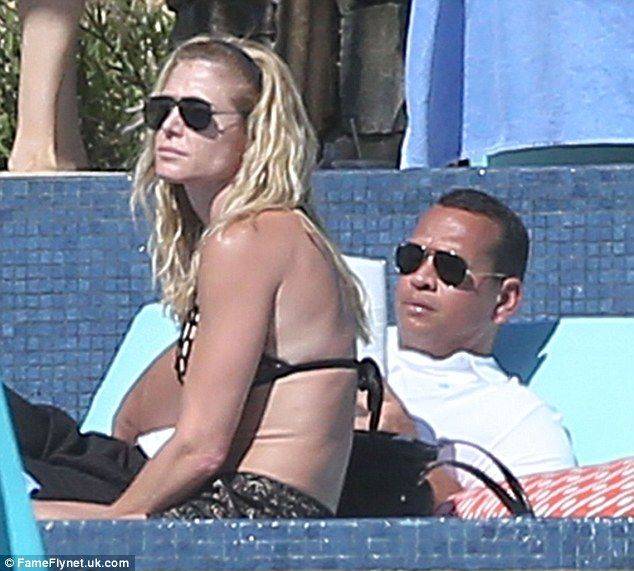 Taking another chance: Alex Rodriguez and Torrie Wilson were spotted on Tuesday while vacationing in Cabo San Lucas, Mexico