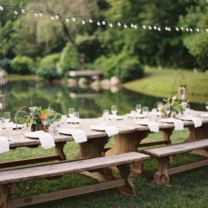 Une d coration de table fa on guinguette garden party - Deco table guinguette ...