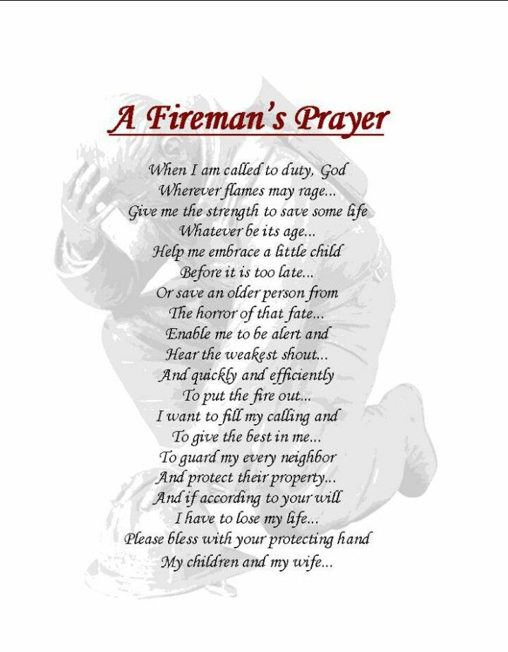 Sending prayers out to all firefighters & their families!!!!