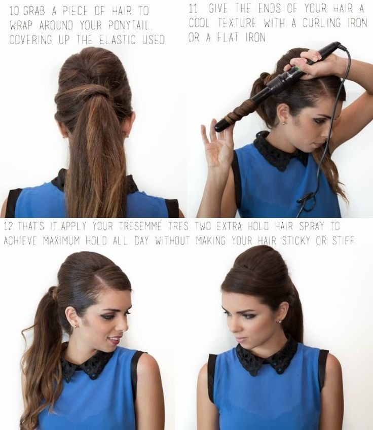 6 Ways to Add Pizzazz To Your Ponytail | Latest-Hairstyles.comHair Obsession, Hair Ideas, Latest Hairstyles Com, Beautiful Hair Tutorials, Bouffant Ponytail, Beautiful Stuff, 60S Bouffant, Hair Stuff, 15 Ponytail