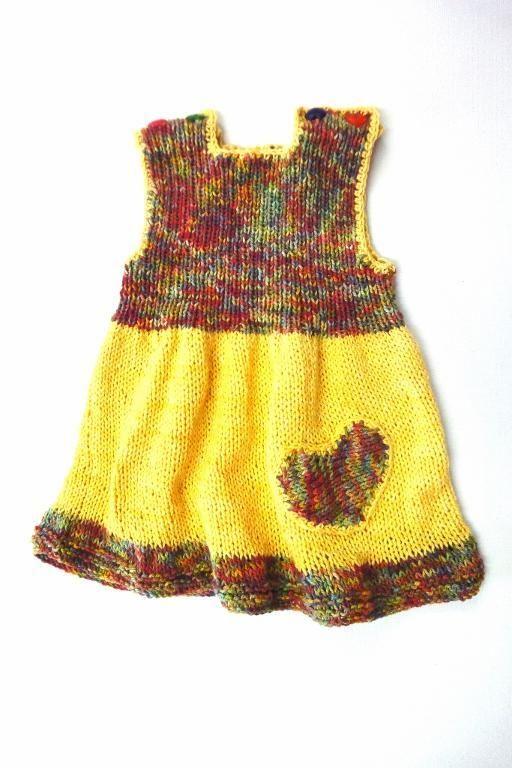 Li'l Heart Baby Dress