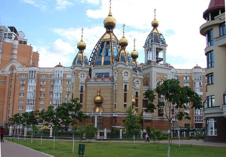 Church in Kiev,Ukraine