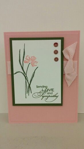 Love and Sympathy (retired) Stampin' Up! by N Rankin