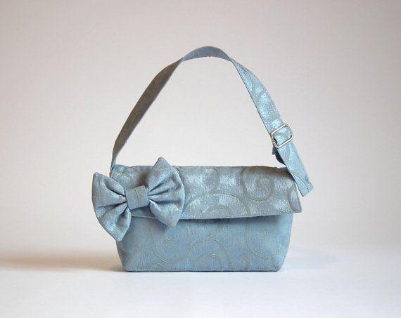 Small light blue bag/  Light blue purse/handbag  by SenseHandbags, $23.00
