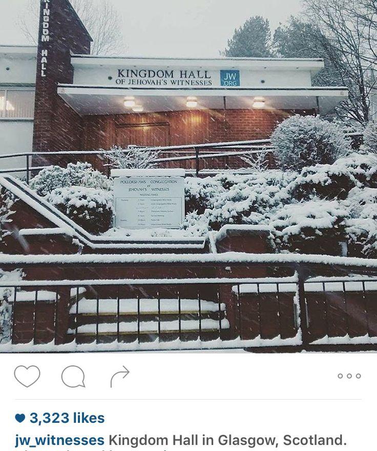 Glasgow Scotland  Kingdom Hall              of  Jehovahs Witnesses