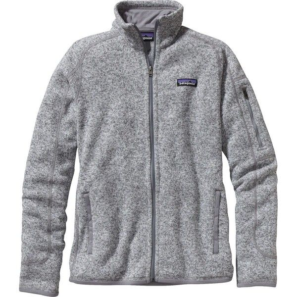 Patagonia Better Sweater Jacket ($111) ❤ liked on Polyvore featuring tops, sweaters, layered tops, patagonia, zip top, zip sweater and zipper top