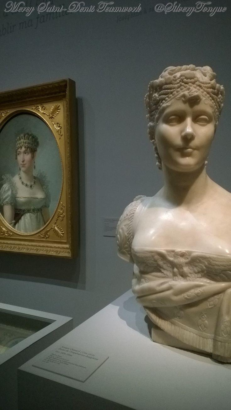 Exposition Incomparable Joséphine au musée du Luxembourg.