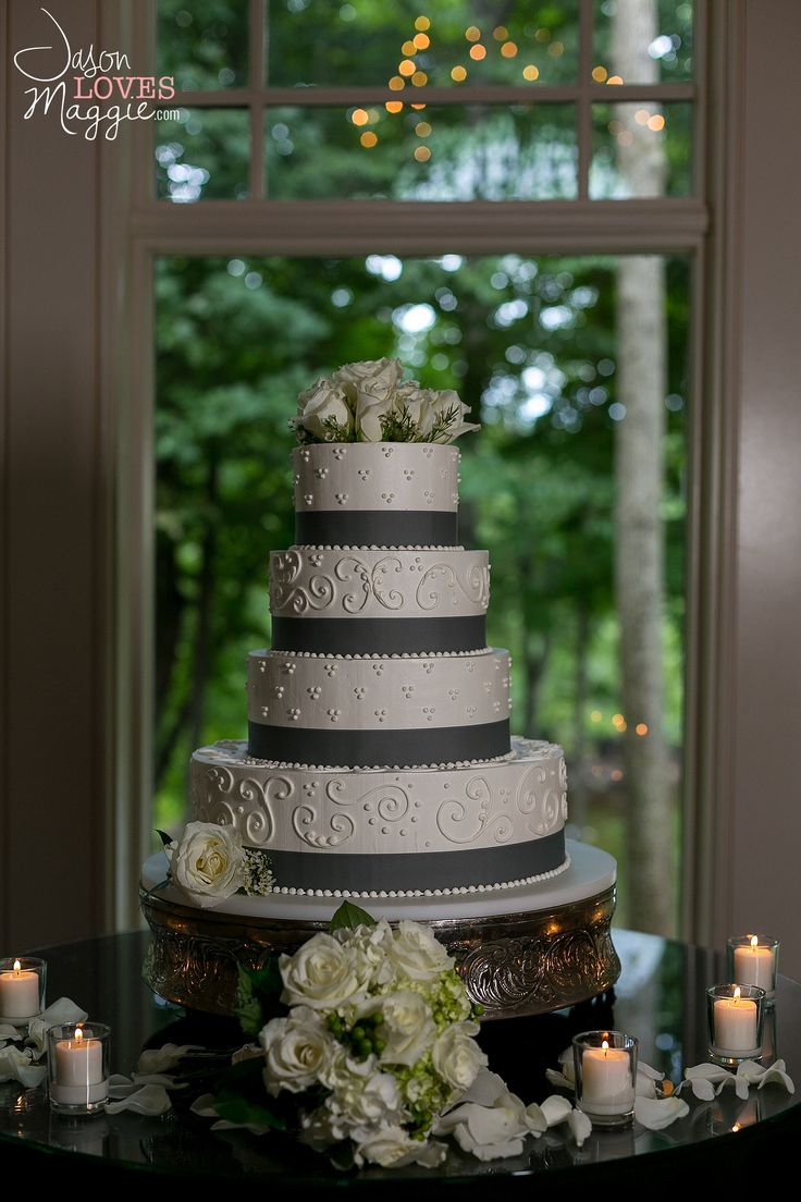 Elegant Wedding Cake, wedding details. Photo by Jason Loves Maggie, Photographers. #weddingcake #weddingday #details #weddingphotography #connecticutwedding #intimate #playful #spontaneous #jasonlovesmaggie