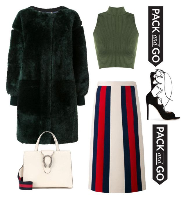 """""""Pack & Go !"""" by luluuheree on Polyvore featuring WearAll, Chloé, Gucci and Gianvito Rossi"""