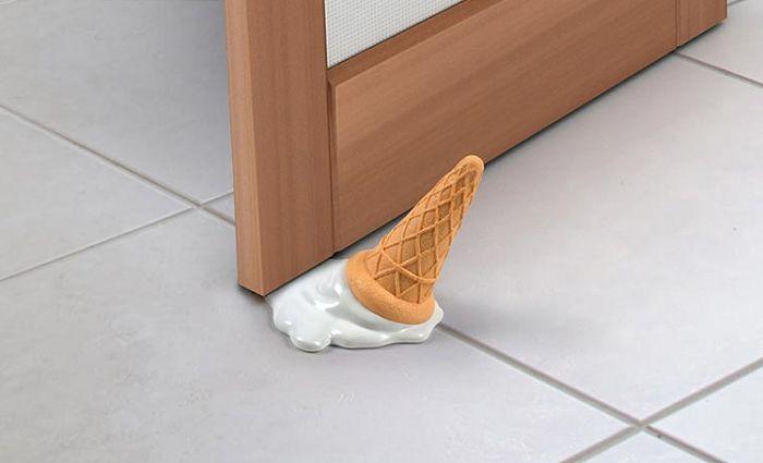 stoper do drzwi lód rożek Fred
