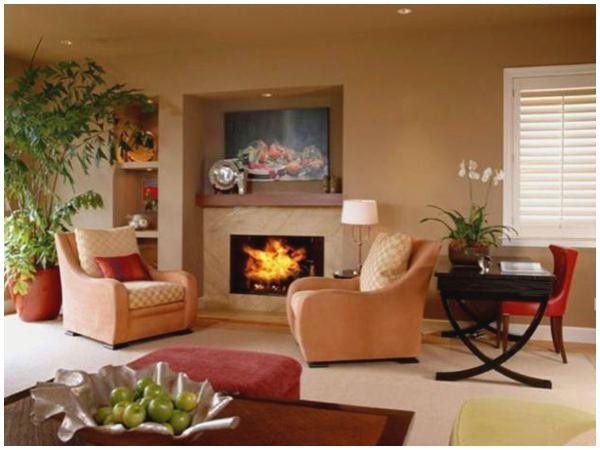 Warme Wandfarben Wohnzimmer #WarmeWandfarbenFürsWohnzimmer ...