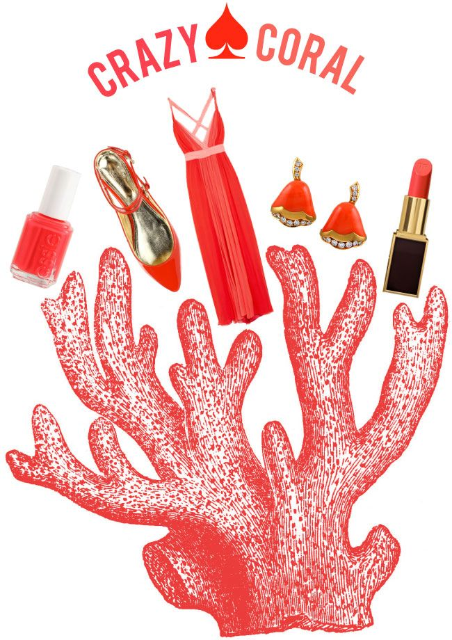 obsessed with Coral at the moment: Crazy Coral, Create Crazy Creative Fun, Colors Patterns, Crazy Creative Fun Blog, Colors Collection, Fantastic Dresses, Coral Outfits, Summer Colors, Coral Anything