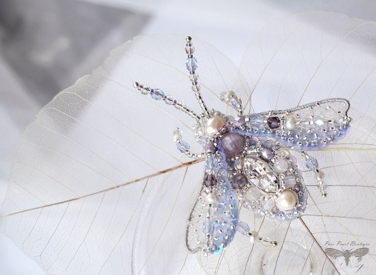 Lavender brooch Beetle Lilac jewelry Insect art brooch Luxury Anniversary gift for wife Birthday gift for daughter or Graduation gift her by PurePearlBoutique on Etsy https://www.etsy.com/listing/265067144/lavender-brooch-beetle-lilac-jewelry