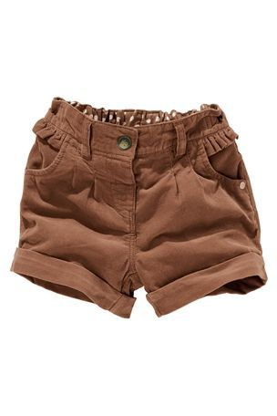 cord shorts