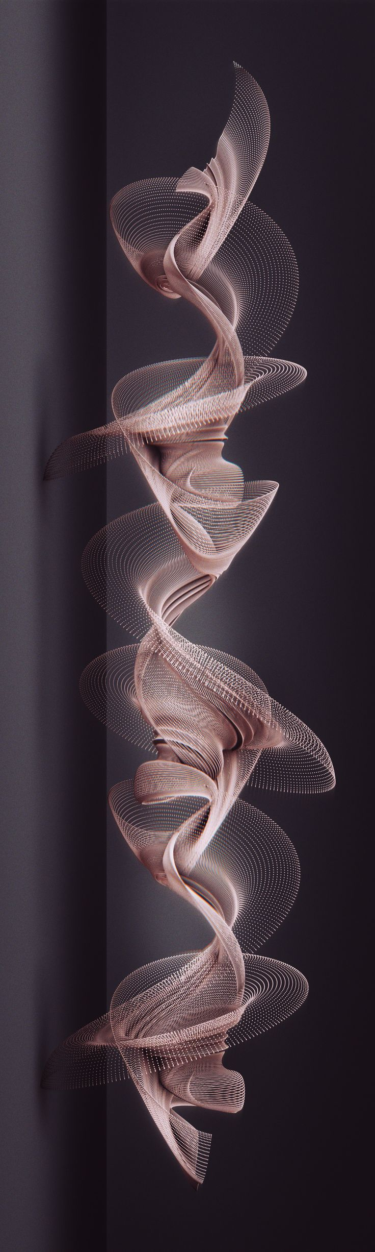 Can Buyukberber.  Unfold: Preliminary Study Toward 3D Printed Media Installations Digital Sculpture Studies July 2014 - Ongoing