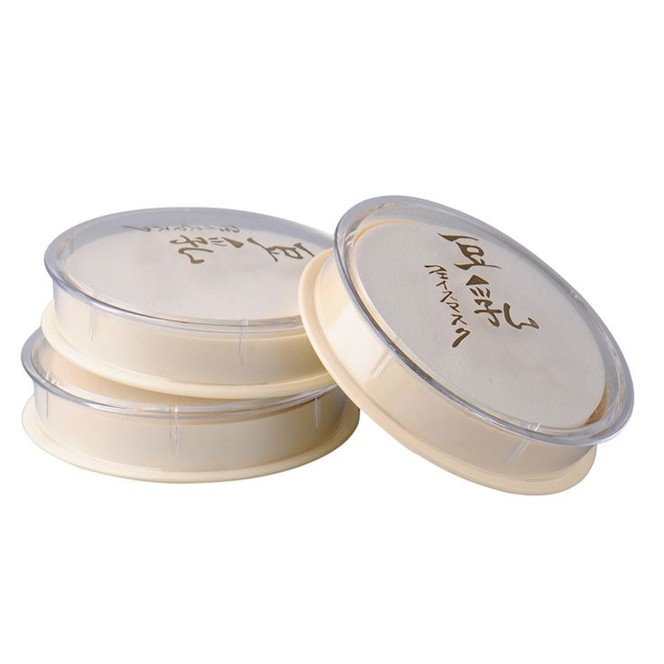 Soy Milk Natural Color Pressed Powder Smooth Loose Face Powder Sunscreen Face Silty Light Delicate powder Beauty Makeup Cosmetic