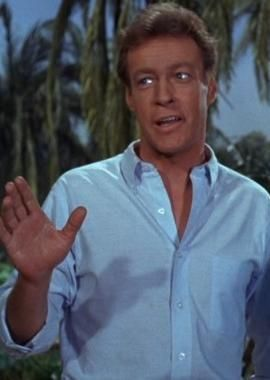 "Actor Russell Johnson, best known as ""The Professor"" on Gilligan's Island, served in the US Army Air Force during WWII. He flew 44 combat missions as a bombardier in B-25 bombers. In March 1945, he and two other B-25s were shot down in the Philippines. He broke both his ankles and the radioman next to him was killed. Johnson earned a Purple Heart, among other honors. He was honorably discharged and later served in the Army Reserve. He used his GI Bill to fund his acting lessons."