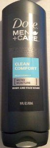 Dove Men + Care Clean Comfort Mild Formula Micro Moisture Body and Face Wash 18 Fl Oz (Pack of 6) by Dove. $37.00