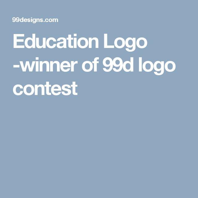 Education Logo -winner of 99d logo contest