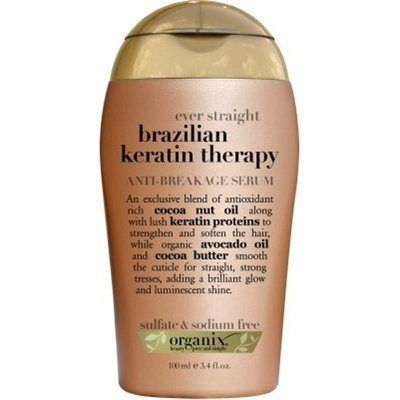Organix Brazilian Keratin Therapy Anti-Break Serum, 3.3 Ounce - (3 Pack) - http://essential-organic.com/organix-brazilian-keratin-therapy-anti-break-serum-3-3-ounce-3-pack/