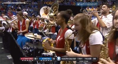 The Stanford band's cowbell player is the undisputed star of the NCAA tournament | For The Win