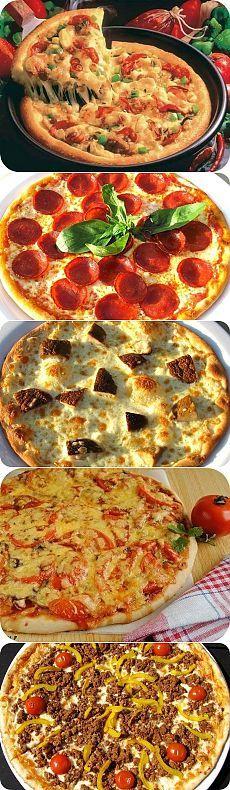 Настоящая итальянская пицца- 9 восхитительных рецептов