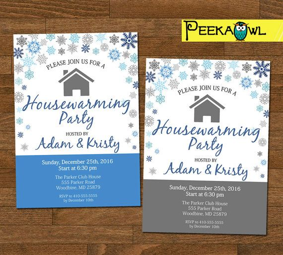 The  Best Housewarming Invitation Cards Ideas On