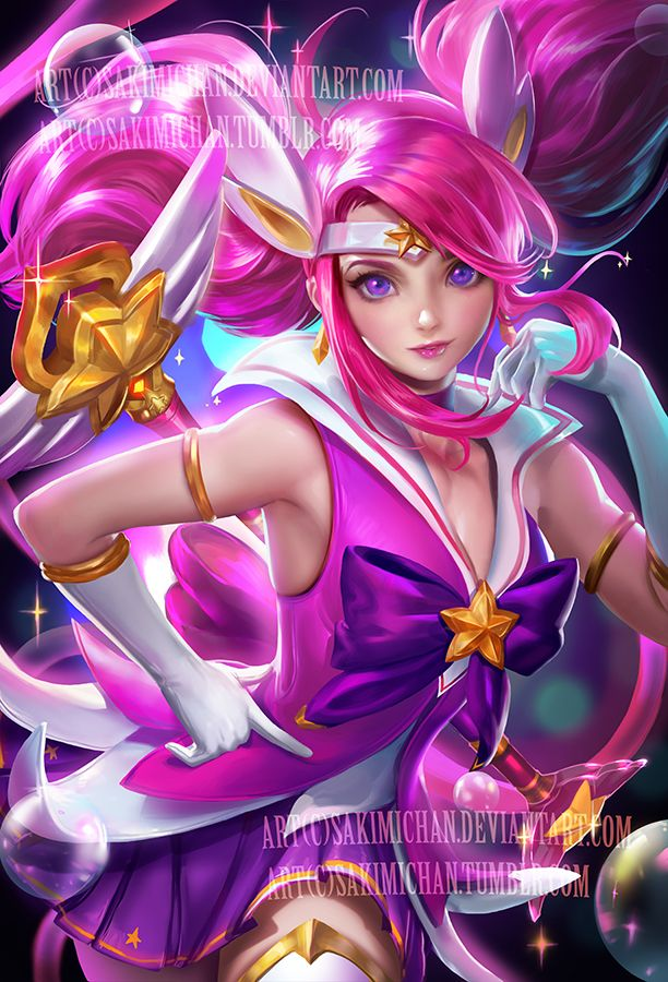 Star guardian Lux . NSFW available. by sakimichan.deviantart.com on @DeviantArt
