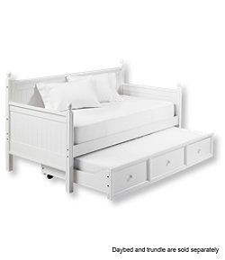 #LLBean: Farmhouse Daybed Trundle $649 bed $179 trundle