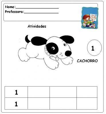 Atividades para pré-escolar - 7