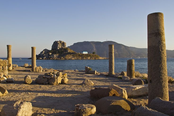 GREECE CHANNEL | The ruins of the ancient town Astipalea in Kefalos. Kos island, Greece