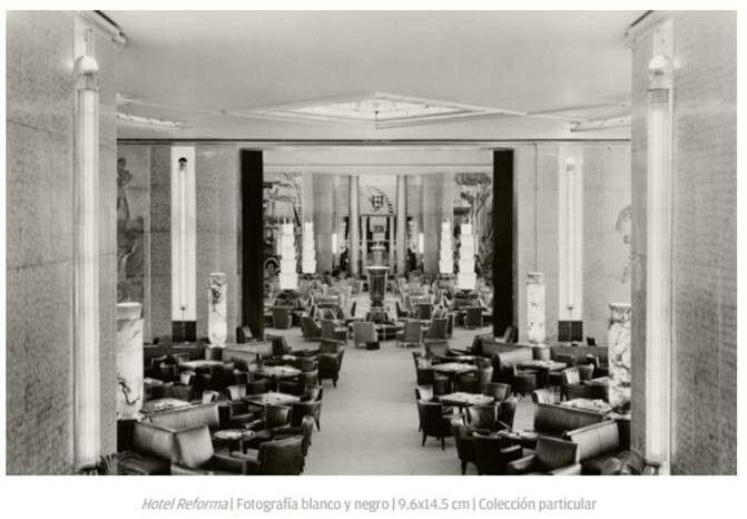 Interior del Hotel Reforma 1940 por Arturo Pani #mexican #modern #modernismomex #mid century