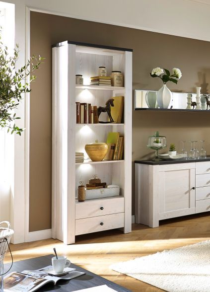adora b cherregal regal l rche pinie dunkel wohnzimmer pinterest. Black Bedroom Furniture Sets. Home Design Ideas