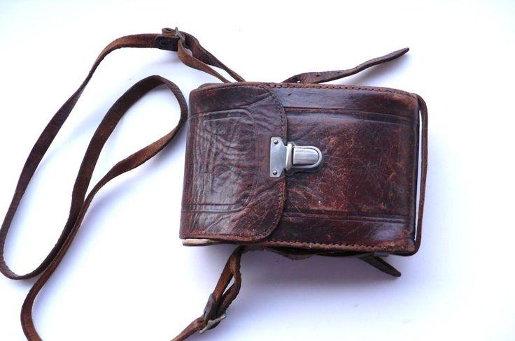 Edles altes Leder-Etui - ein Designerstück von giba bei DaWanda